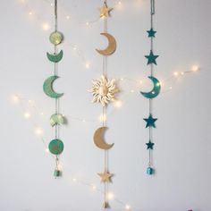 Bring the Moon's Magic into your Home. The Moon Phase wall hanging is perfect for your bohemian home decor. Bring the Moon's Magic into your Home. The Moon Phase wall hanging is perfect for your bohemian home decor. Handmade Home, Theme Galaxy, Diy Wall, Wall Decor, Creation Deco, Diy Home Decor Projects, Decor Ideas, Decorating Ideas, Ideas Decoración