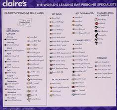 Claire's ear piercing is – accessory Ear Piercings Chart, Piercing Chart, Silver Drop Earrings, Ring Earrings, Septum, Claires Ear Piercing, Felt Hearts, Chandelier Earrings, Up Hairstyles