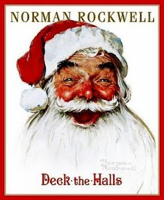 Deck the Halls / Norman Rockwell