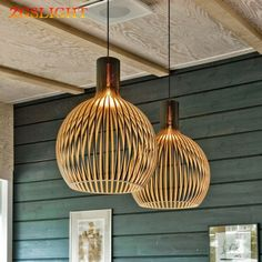 Bring style and creativity into all of your spaces with any of our unique designer light fittings, ceiling fixtures, or tabletop lamps. Wood Pendant Light, Cheap Pendant Lights, Modern Pendant Light, Pendant Lamps, Bathroom Pendant Lighting, Modern Light Fixtures, Round Pendant, Light Fittings, Handmade Chandelier