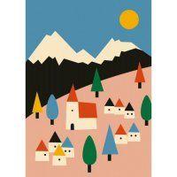Anna Kövecses Poster Landscape