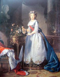 Empress Elizabeth Alexeievna of Russia Born Princess Louise of Baden Portrait by Elisabeth Vigee Le Brun Princess Louise, House Of Romanov, Catherine The Great, Court Dresses, Elisabeth, Grand Palais, A4 Poster, Russian Fashion, Expo