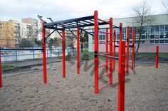 Image result for street workout Garden Gym Ideas, Playground Bar, Street Workout, No Equipment Workout, Pergola, Outdoor Structures, Image, Outdoor Pergola