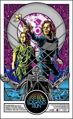 Alternative Movie Poster for Logan's Run by Tim Doyle