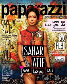 Paperazzi Pakistan, April Lisa Haydon on the Magazine Cover. Love Dare, Love Me Like, Lisa Haydon, Youre Mine, Embedded Image Permalink, Dares, Indian Actresses, Pakistan, Magazine