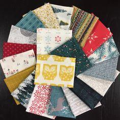 20 Lambkin Full Fabric Collection Bonnie Christine Fat Eights or 20 Fat Quarters or 20 Half Yards Art Gallery Fabrics