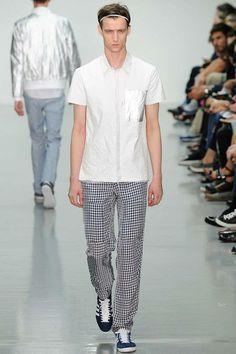 Richard Nicoll | Spring 2015 Menswear Collection | Style.com
