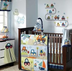 Little Traveler Nursery Collection Car Themed Rooms Room Baby Boy