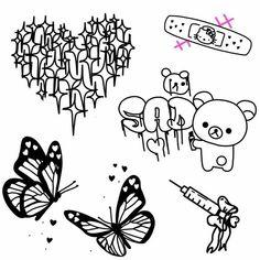 Sketch Tattoo Design, Tattoo Sketches, Tattoo Drawings, Tattoo Designs, Pretty Tattoos, Cute Tattoos, Beautiful Tattoos, Tatoos, Mini Tattoos