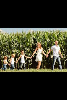 Family pic idea....or with just the kids...