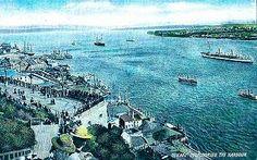 Vieux-Port de Québec vers la fin des années 1800.