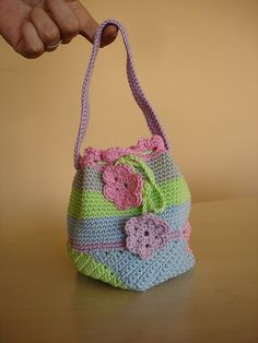 pastel swirling bag | Flickr - Photo Sharing!♡