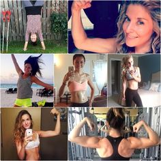 These badass bombshells are totally crushing the #CharityChallenge & #TIUNutritionPlan! 💪 They're an inspiration to us & we know they'll get you pumped up too! Head to the latest post on www.ToneItUp.com for some MAJOR motivation! @karenakatrina #TIUteam #MotivationMonday  CharityChallenge,TIUNutritionPlan,TIUteam,MotivationMonday Fitness Workouts, At Home Workouts, Nutrition Plans, Female Fitness, Monday Motivation, Bombshells, Fit Women, Fitbit, Badass
