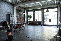 Brooklyn Style, Photo Studio, Villa, Loft, Interior, House, Design, Home Decor, Container