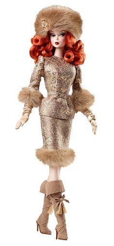 2011 Ekaterina Barbie® Doll   Barbie Fashion Model Collection *SILKSTONE