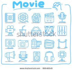 Find Pure Series Hand Drawn Furniture Icon stock images in HD and millions of other royalty-free stock photos, illustrations and vectors in the Shutterstock collection. Hand Doodles, Bullet Journal Banner, Bullet Journals, Camera Tattoos, Film Icon, Cute Little Drawings, Media Icon, Iconic Movies, Doodle Drawings