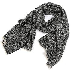 Yoins Black Oversized Scarf (£13) ❤ liked on Polyvore featuring accessories, scarves, yoins, black, scarves & shawls, wrap shawl, shawl scarves, knit shawl, oversized knit scarves and knit scarves
