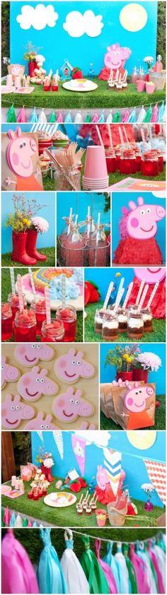 ideas fiesta de cumpleaos de peppa pig