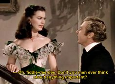 Vivien Leigh as Scarlett O'Hara and Rand Brooks as Charles Hamilton in Gone With The Wind (1939)