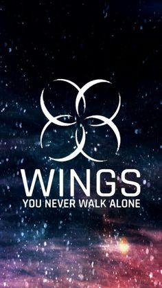 BTS WINGS YOU NEVER WALK ALONE    YNWA    WALLPAPER