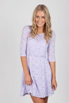 Lavender dress for senior pic #maybe