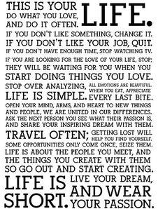 Words...