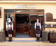 Ebonas Wine cellar, Rhodes island, Dodecanesse