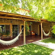 Finca Adalgisa - The suites have vineyard view. they are 60 sq meters and have space for 2 people. Bed can be mat or twin. Hacienda Style Homes, Spanish Style Homes, Gite Rural, Village House Design, Backyard Patio Designs, Pergola Designs, Backyard Ideas, Tropical Houses, Traditional House