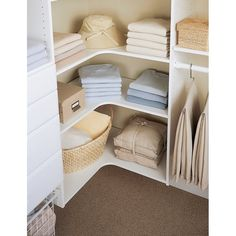 49 Creative Closet Designs Ideas For Your Home. Unique closet design ideas will definitely help you utilize your closet space appropriately. An ideal closet design is probably the only avenue . Master Closet Design, Walk In Closet Design, Master Bedroom Closet, Closet Designs, Small Walk In Closet Ideas, Attic Closet, Small Master Closet, Master Bedrooms, Simple Closet