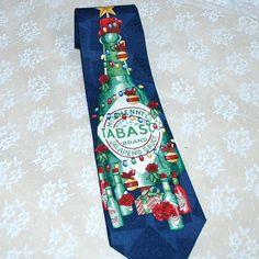100% Silk Handmade Ugly Christmas Tie--Tis the Season (almost ...
