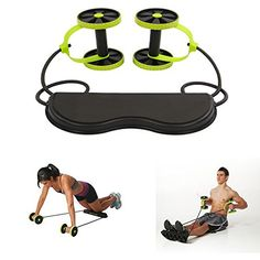 EConcept 6 Training Level Exercise Fitness Gym At Home Indoor Sports Body Development Chest, Back, Arms, Shoulders After Workout Fitness Portable Exercise Equipment W/Carry Case ** Click image for more details. Exercise Equipment, Training Equipment, Chest Workouts, Gym Workouts, Ab Trainer, Ab Wheel, Medical Design, Best Abs, After Workout