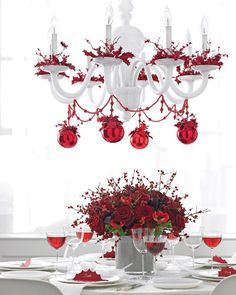 Top 40 Christmas Chandelier Decoration Ideas Christmas Celebrations