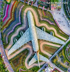 #DYK our @Airbus A380 floral installation in Dubai Miracle Garden is made of over 5 million flowers?