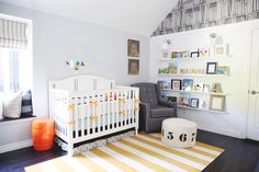 Project Nursery - Library Themed Nursery