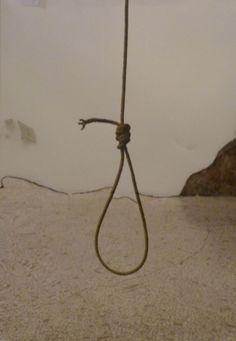 Michelangelo Pistoletto. Il cappio. 1963-83