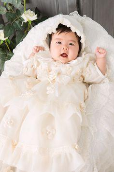 生後3ヶ月の赤ちゃんは、イベントがいっぱい!お宮参り、百日記念♪