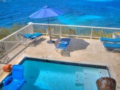 You have internet surfed to one of the most fabulous and affordable oceanfront villas in the Caribbean. Rainbow Cove is pure Caribbean 'barefoot' luxury, which the owner opens to visitors when not in residence. ...