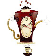 Часы необычной формы - Ярмарка Мастеров - ручная работа, handmade