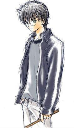 Harry n'est peut-etre pas mon perso favori, mais j'adore ce dessin **