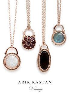 Arik Kastan Padlocks Available at Zaltas Gallery of Fine Jewelry