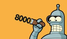 8000 by Gregore GUILLEMIN