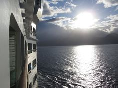 Enjoy the view from your balcony on Adventure of the Seas.