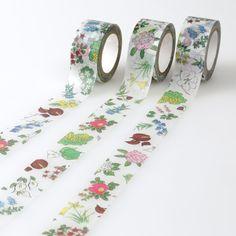 〈公式〉六花亭オンラインショップ:花柄マスキングテープ
