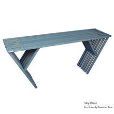 GloDea Eco Friendly Sideboard X70 (Sky Blue), Patio Furniture