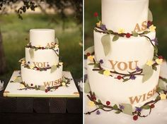 'As You Wish' Cake | {{Maybe if Jeff and I ever renewed our vows }}