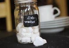 Homemade dishwasher detergent that works! Using essential oils! Orange our lemon would be my choice. Love the idea of using molds!