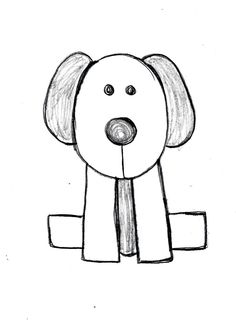 how to draw a beagle puppy How to draw Pinterest Beagle