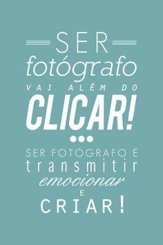 #fotografia ser fotografo es que mas hacer click, ser fotografo es transmitir emociones y crear