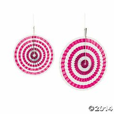 Set your sights on party decorations that are certain to catch all your party guests eyes! With 10 and 14 sizes, these striped hanging fans are an effortless . Alice In Wonderland Party, Paper Fans, Blue Party, Ceiling Decor, Toy Craft, Oriental Trading, Party Items, Party Guests, Pink Candy