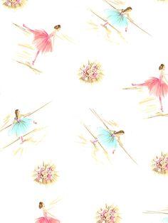 Ballet print by Vintage Kit to licence e mail vintagekit@mac.com